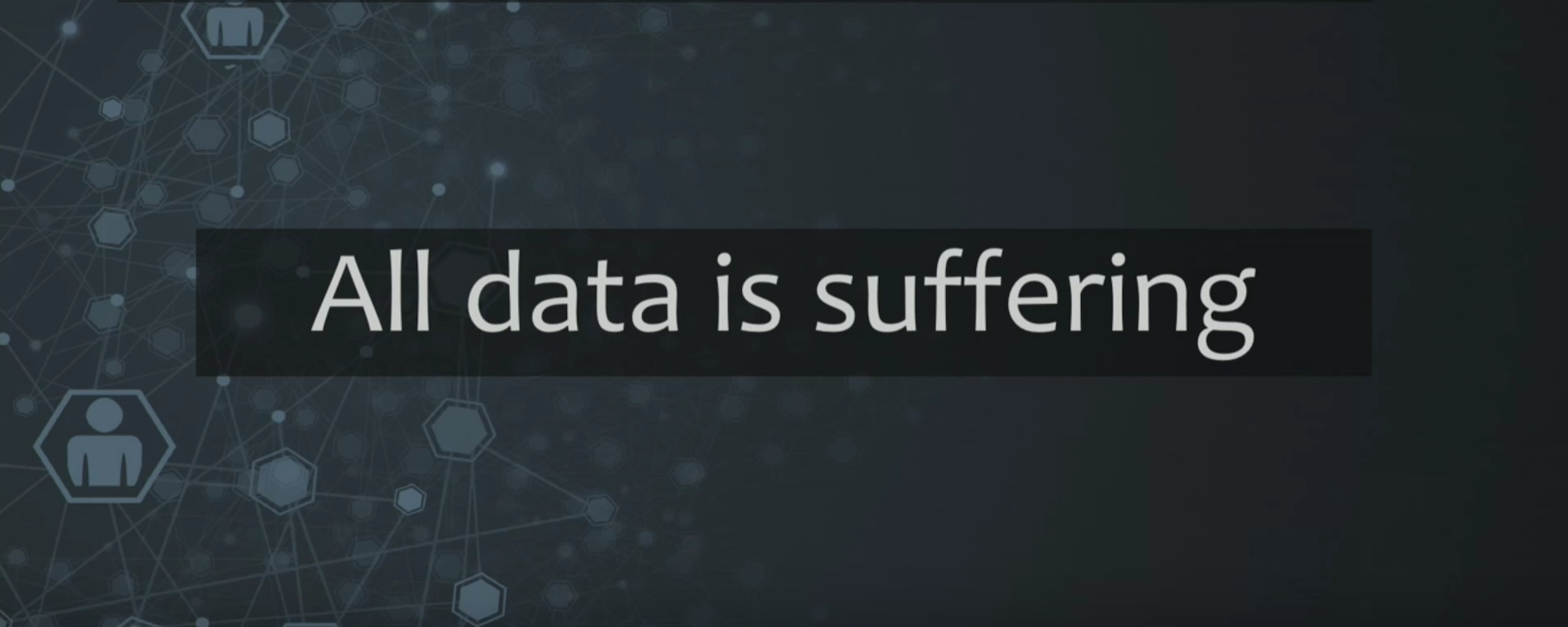 """All Data Is Suffering"" Karen Lopez"