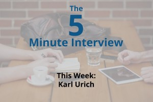 Catch This Week's 5-Minute Interview with Karl Urich of DataFoxtrot