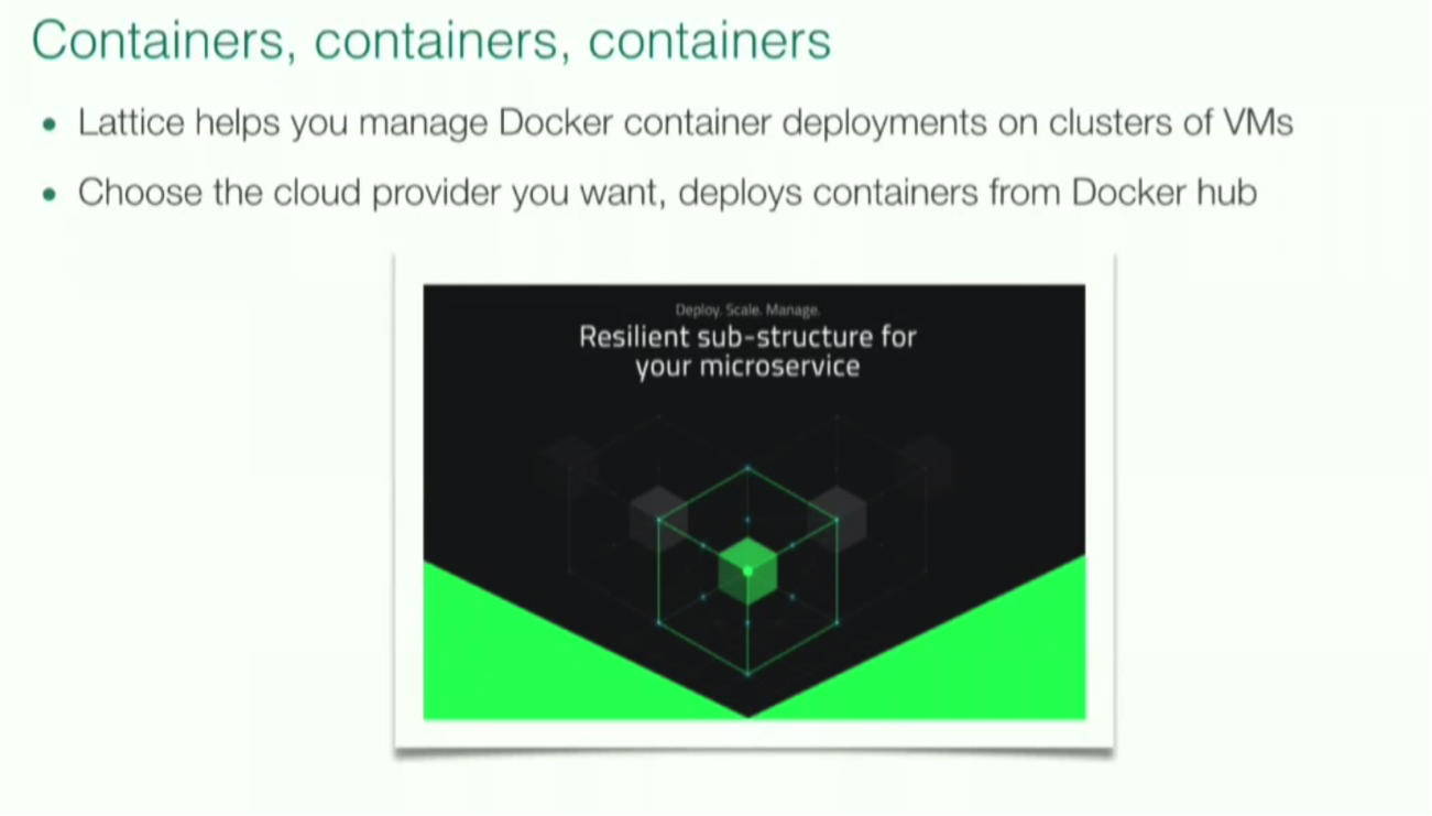 Lattice Helps You Manage Docker Containers