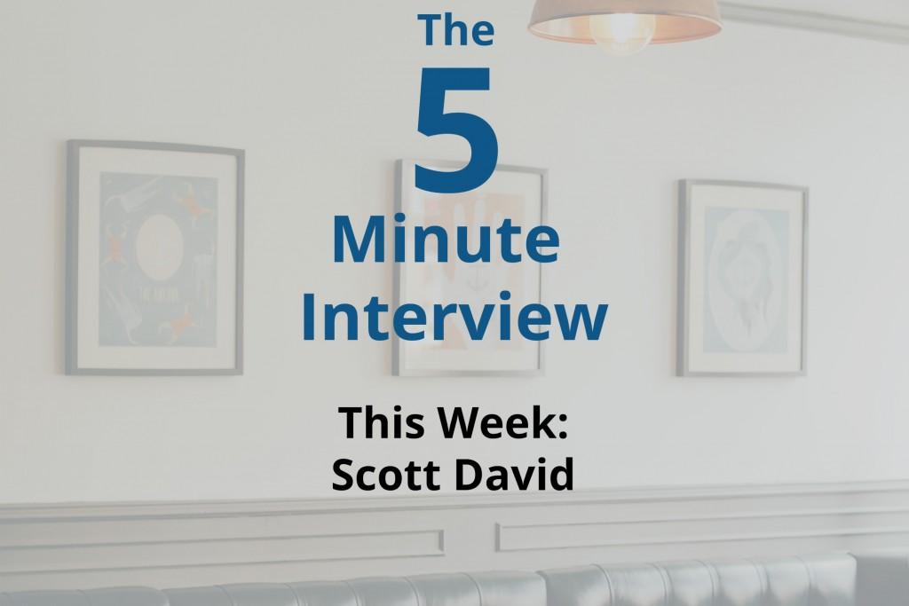 Catch This Week's 5-Minute Interview with Scott David of the World Economic Forum