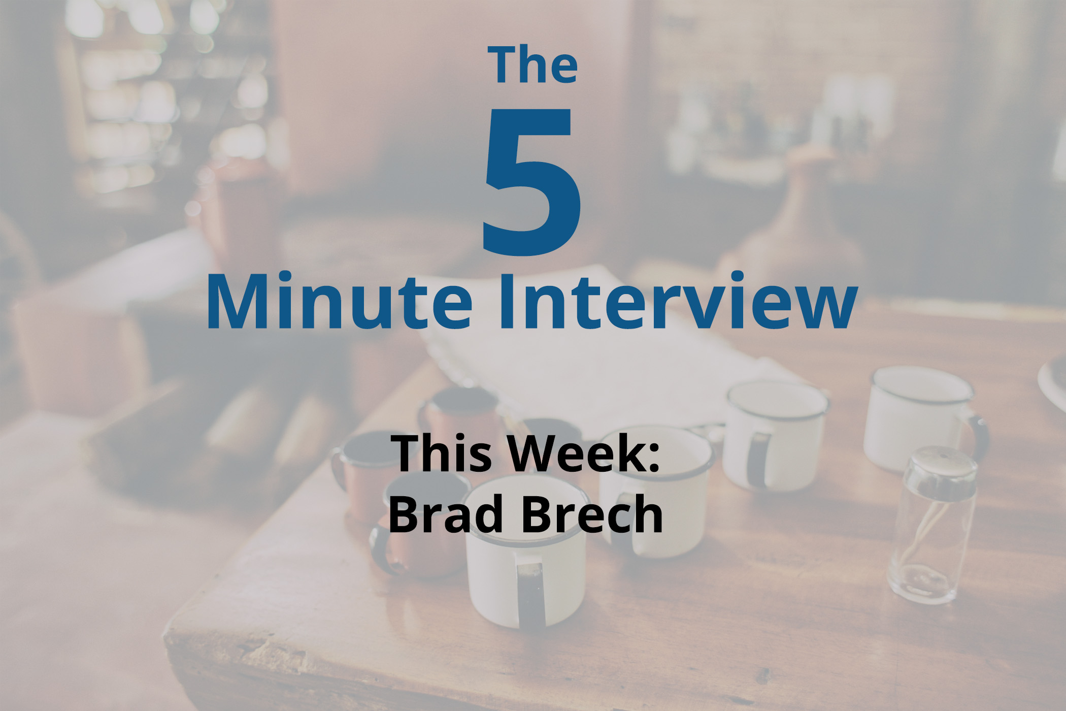 Catch This Week's 5-Minute Interview with Brad Brech, the CTO of Solutions at IBM