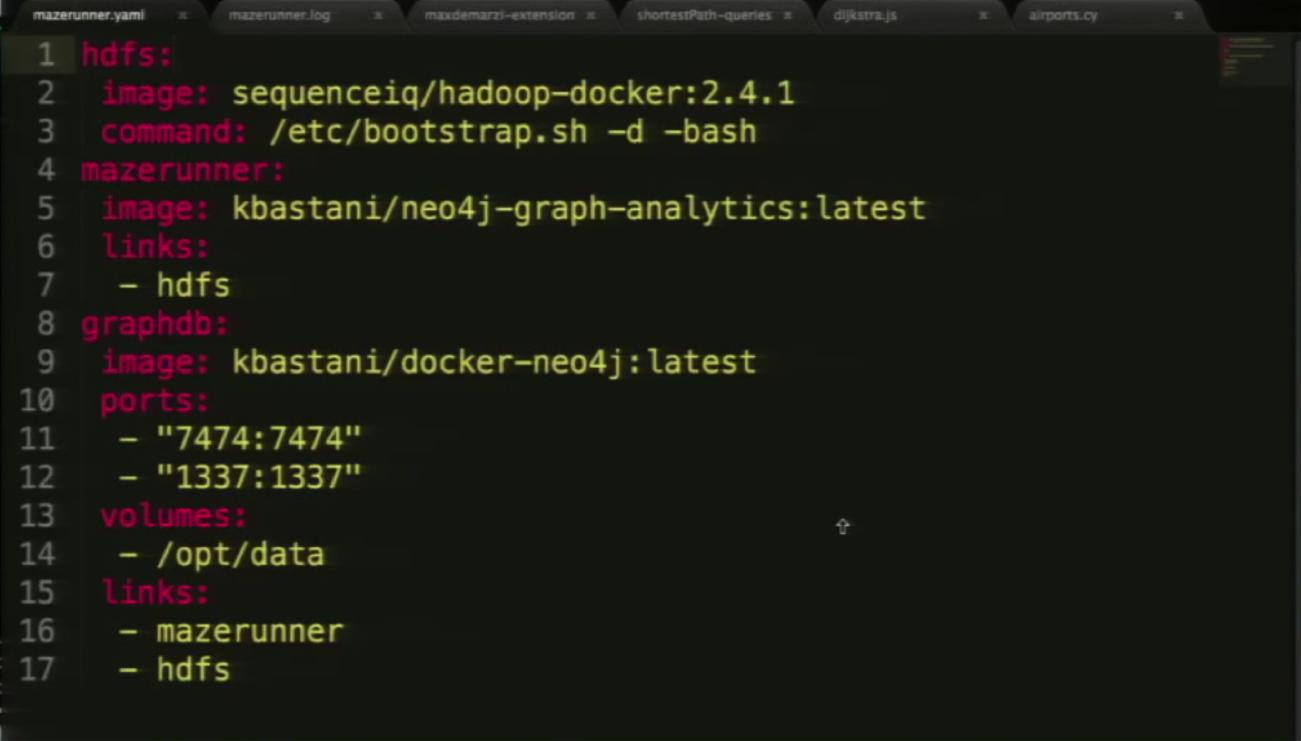The Mazerunner Installation in Docker Compose