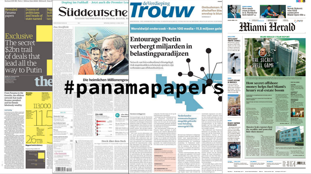 The Global Coverage of the Panama Papers