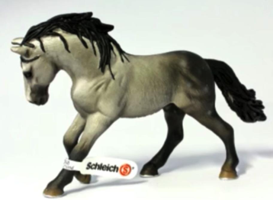 A Schleich Horse Figurine