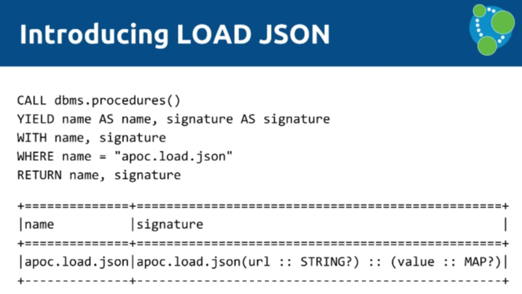 An Introduction to LOAD JSON