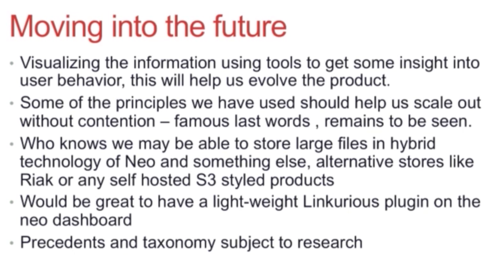 The future of Neo4j graph database at Scribestar