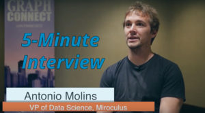 Catch this week's 5-Minute Interview with Antonio Molins, Vice President of Data Science at Miroculus