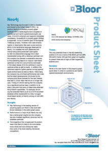 Read this Bloor Research product sheet with a vendor-neutral analysis of the Neo4j graph database