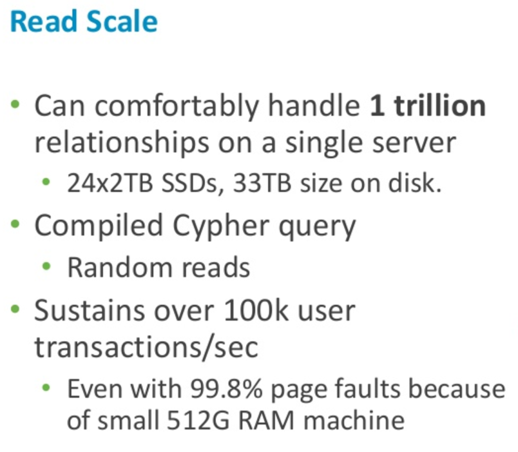 Read scale for Neo4j
