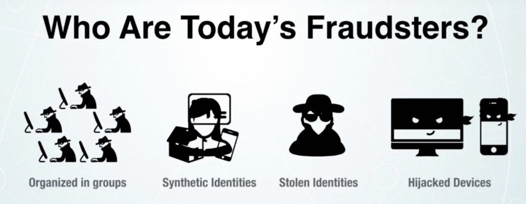 Fraud rings, synthetic and stolen identities, and hijacked devices