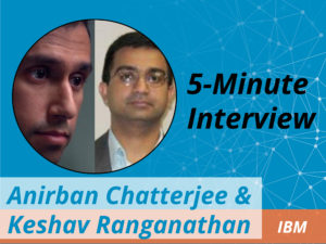 Catch this week's 5-Minute Interview with Anirban Chatterjee and Keshav Ranganathan of IBM as they discuss the company's strategic partnership with Neo4j.