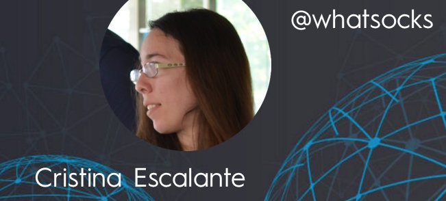 Cristina Escalante - This Week's Featured Community Member