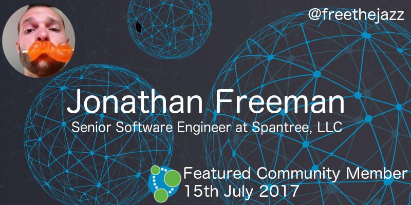 Jonathan Freeman - This Week's Featured Community Member