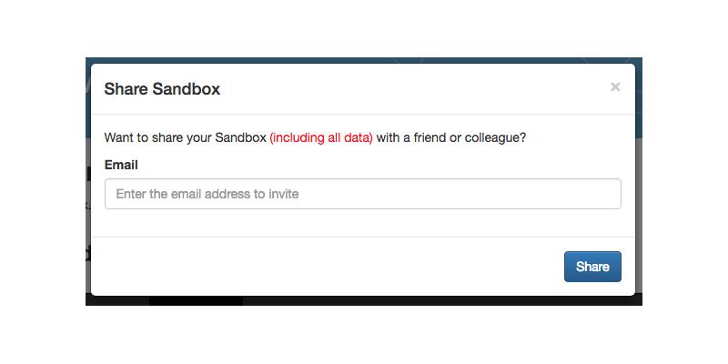 Sharing the Neo4j Sandbox via email