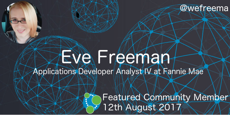 Eve Freeman - This Week's Featured Community Member