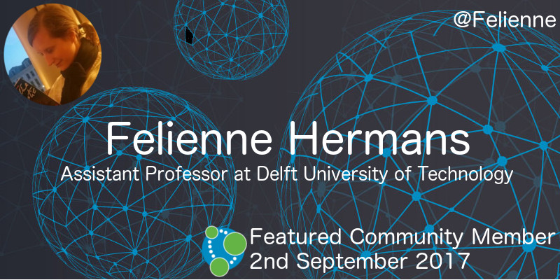 Felienne Hermans - This Week's Featured Community Member