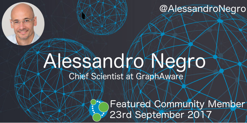 Alessandro Negro - This Week's Featured Community Member