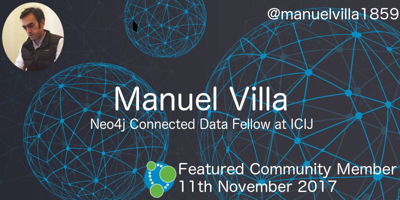 Manuel Villa - This Week's Featured Community Member