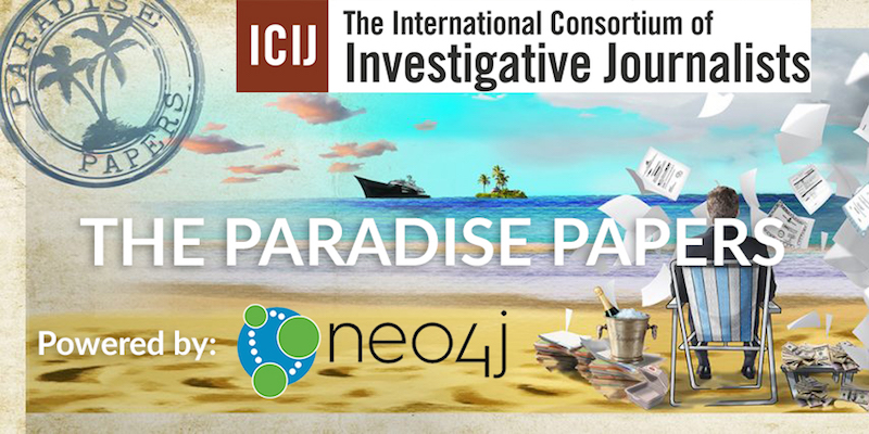 Discover how Neo4j graph technology has helped power the Paradise Papers investigation by the ICIJ