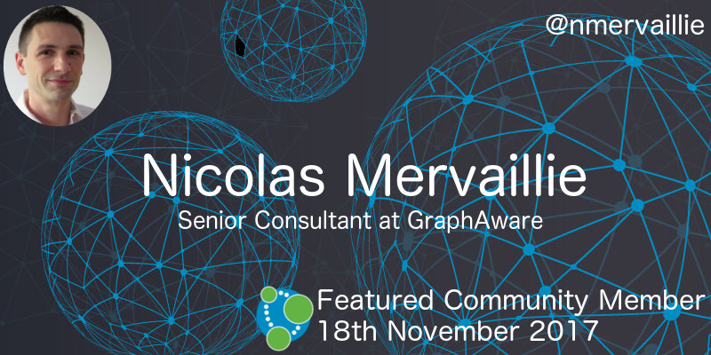 Nicolas Mervaillie - This Week's Featured Community Member