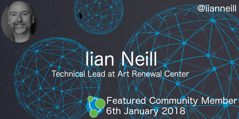Iian Neill - This Week's Featured Community Member