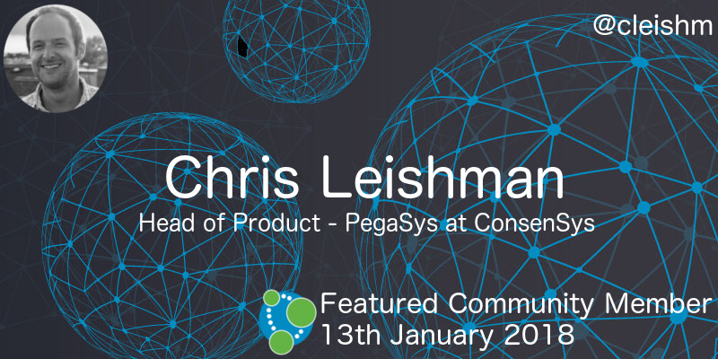 Chris Leishman - This Week's Featured Community Member