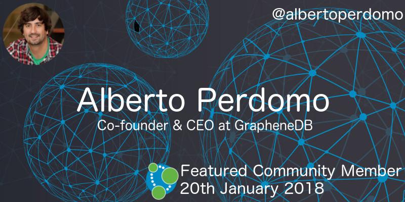 Alberto Perdomo - This Week's Featured Community Member