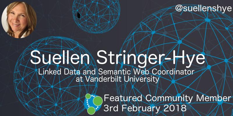 Suellen Stringer-Hye - This Week's Featured Community Member