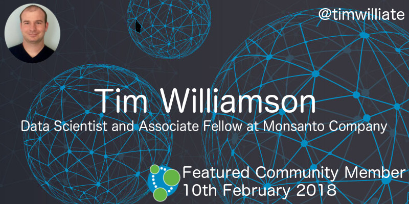 Tim Williamson - This Week's Featured Community Member