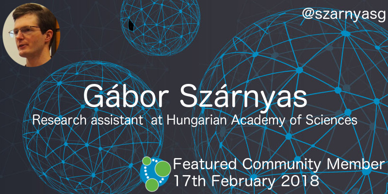 Gábor Szárnyas - This Week's Featured Community Member
