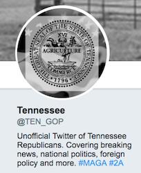 The TEN_GOP Twitter handle identified in the Mueller indictment