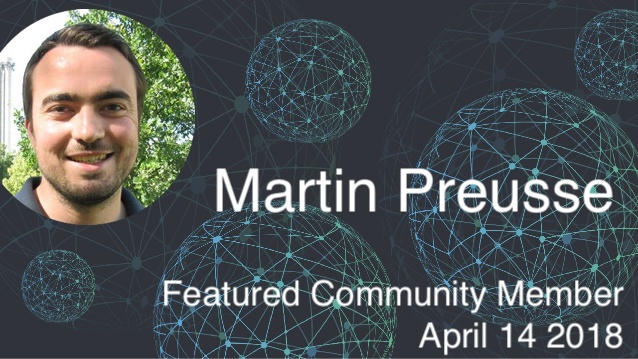 Martin Preusse - This Week's Featured Community Member