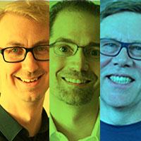 Emil Eifrem, Philip Rathle & Alastair Green Image
