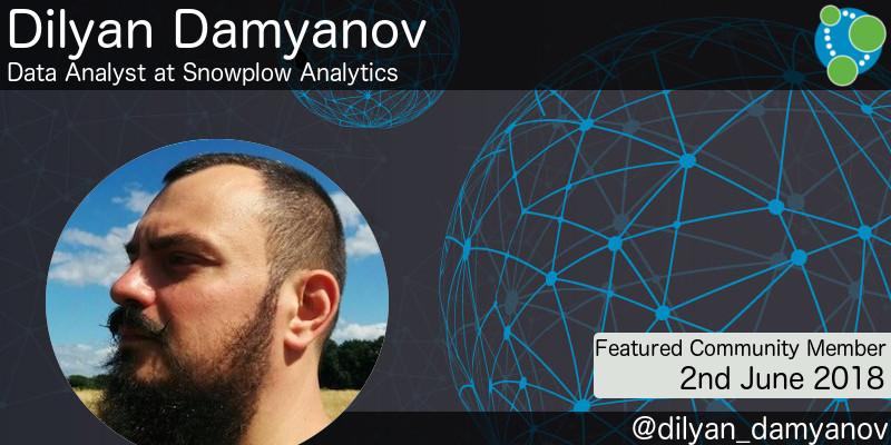Dilyan Damyanov - This Week's Featured Community Member