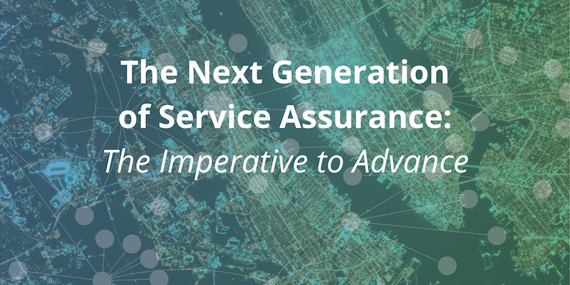 Examine the challenges of network services and discover next-generation service assurance.