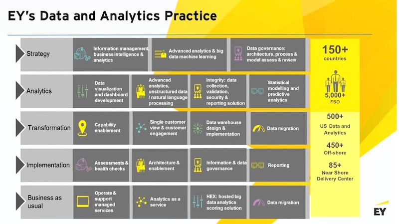 Check out EY's data and analytics practice.
