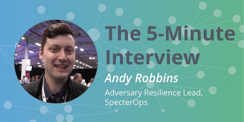 Discover how graphs help thwart hacker attacks with Andy Robbins of SpectorOps.