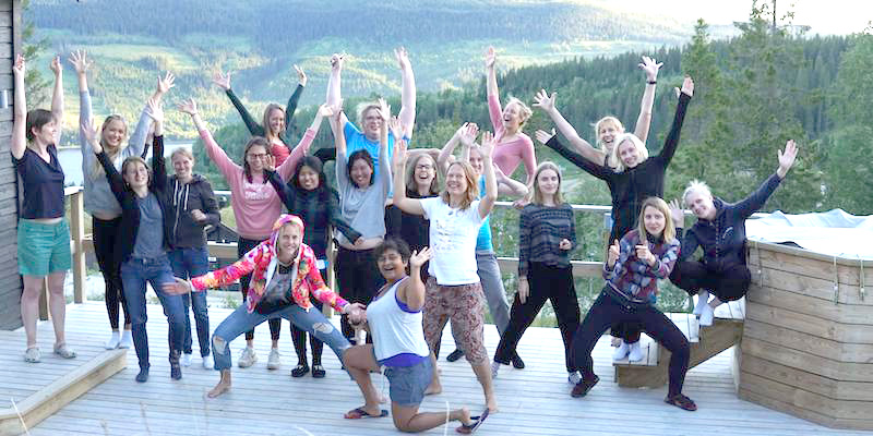 Pink Programming camp sponsored in part by Neo4j, a camp for female data scientists.