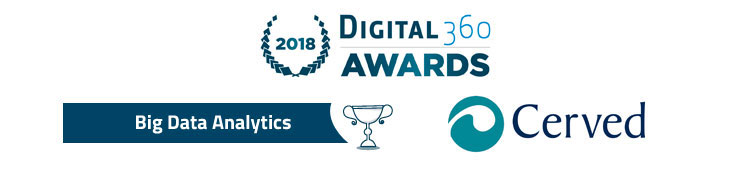 Cerved and Larus win a Digital360 award for Big Data Analytics.