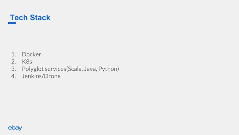 The eBay App's tech stack.