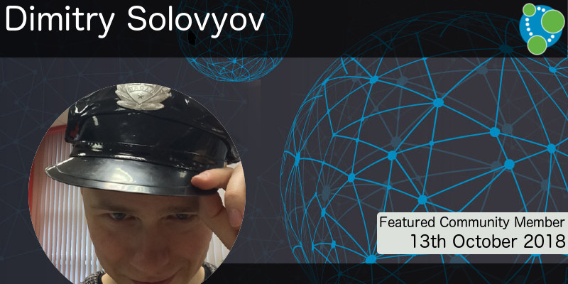 Dimitry Solovyov - This Week's Featured Community Member