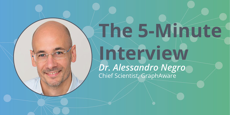 Read this interview on graph technology with Dr. Alessandro Negro of GraphAware.