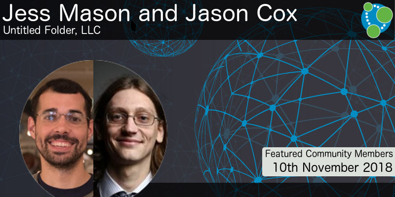 Jess Mason and Jason Cox, - This Week's Featured Community Member