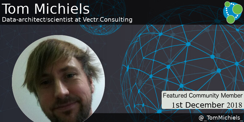 Tom Michiels - This Week's Featured Community Member