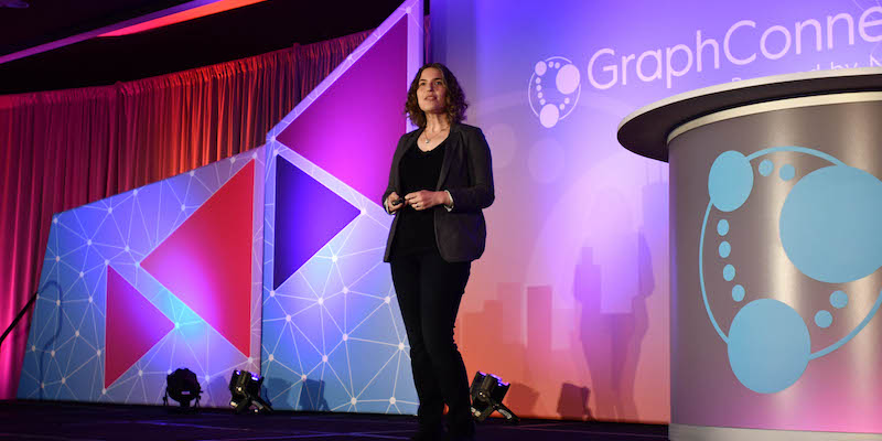 GraphConnect 2018, where Hilary Mason was the keynote speaker