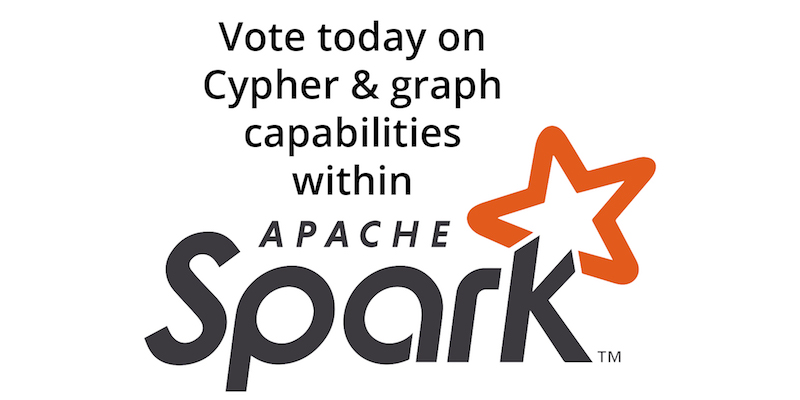 Vote today to extend the graph capabilities of Apache Spark with Cypher queries