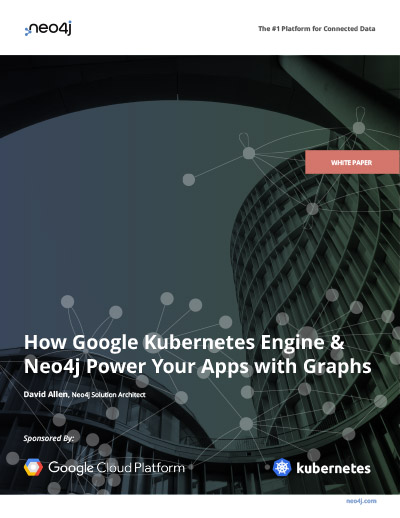 Read this white paper on how and why to deploy Neo4j within Google Kubernetes Engine (GKE)