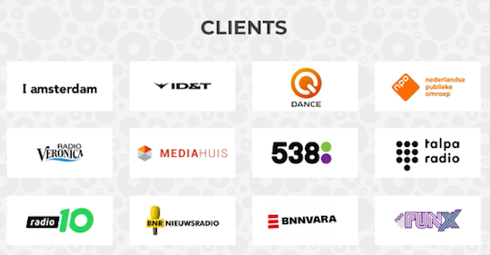 An example of MediaConnect clients who benefit from real-time recommendations.