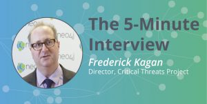 Check out this 5-minute interview with Frederick Kagan, Director of the Critical Threats Project.