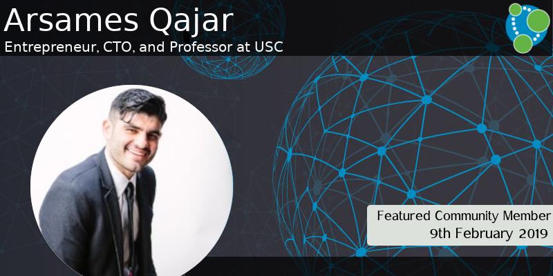 Arsames Qajar - This Week's Featured Community Member